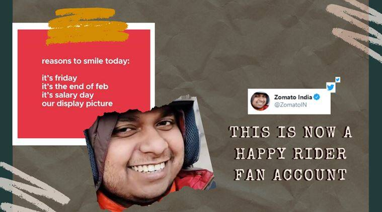 After Happy Rider Goes Viral Zomato India Makes Him Their