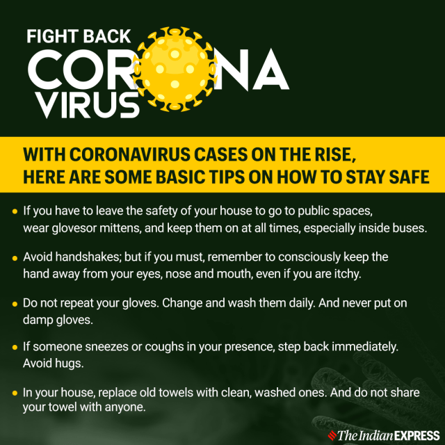 Coronavirus dos and don'ts