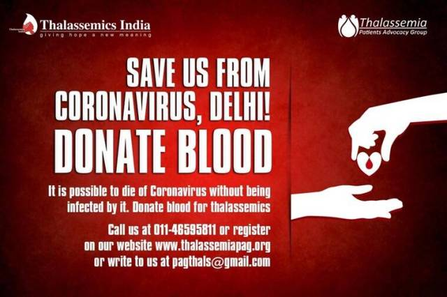 coronavirus, thalassemia, coronavirus scare, coronavirus pandemic, indianexpress.com, indianexpress, blood shortage, no blood donation, blood donation drives, Thalassemics, Thalassemia India, coronavirus thalassemia, thalassemics appeal, blood disorder, shobha tuli, thalassemics india,