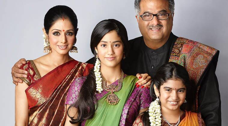 This throwback photo of Sridevi, Janhvi Kapoor and family is 'priceless'