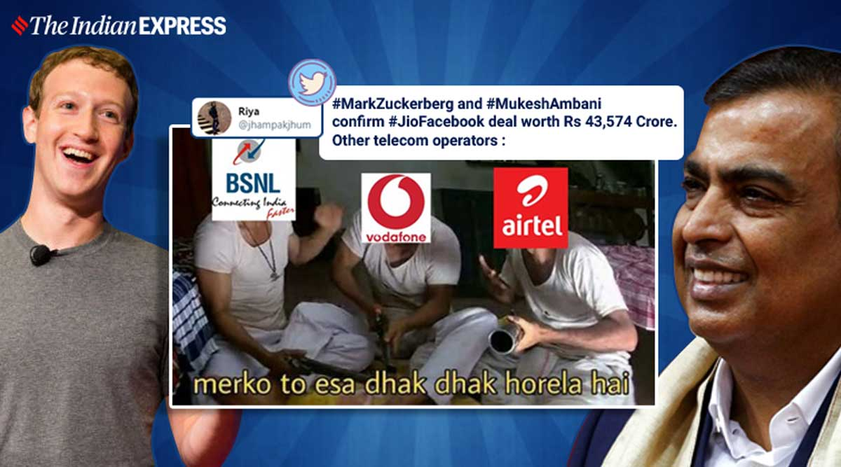 Facebook Reliance Jio Deal Inspires Plenty Of Memes And Puns On