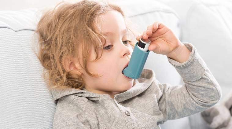 asthma, asthma in babies, asthma in kids, childhood asthma, health, parenting, indian express, indian express news