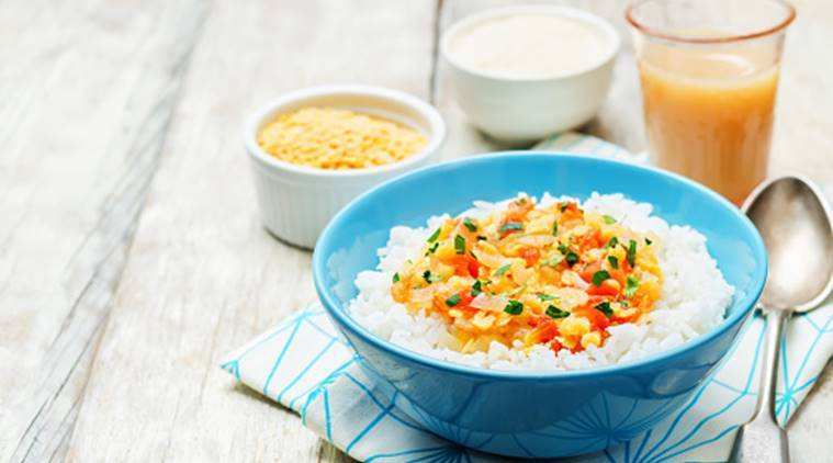 rice dal, lockdown meal