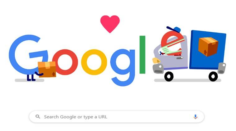 Thank You Coronavirus Helpers Google S Latest Doodle Honours Delivery Workers Trending News The Indian Express