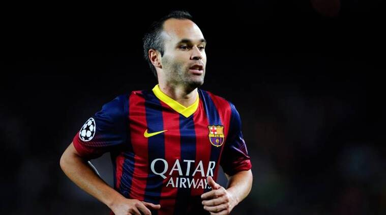 iniesta What was Barcelona's starting XI when Lionel Messi scored his first La Liga goal?