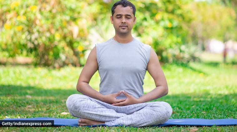 breathing technique, box breathing, how to do box breathing, indianexpress.com, indianexpress, how to relax, relaxing pose, meditation, how to relieve stress,