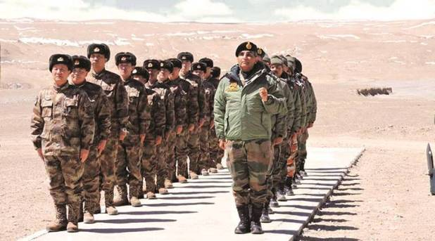 Not just in Ladakh, India, China moved troops in all three sectors last  month   India News,The Indian Express