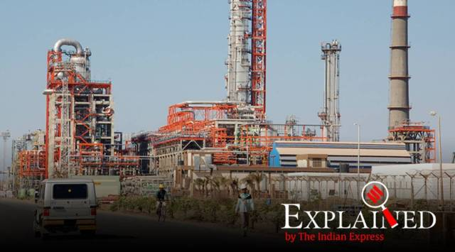 Maharashtra oil refinery, India oil production, India oil refinery capacity