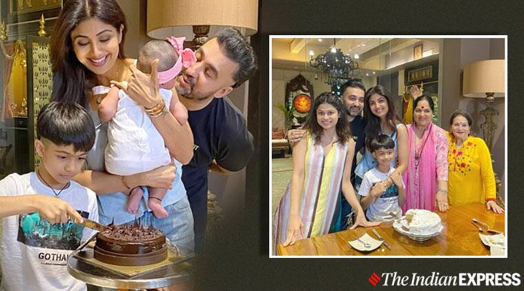 For Shilpa Shetty S Birthday Husband Raj Kundra Baked This Cake Try The Recipe Lifestyle News The Indian Express