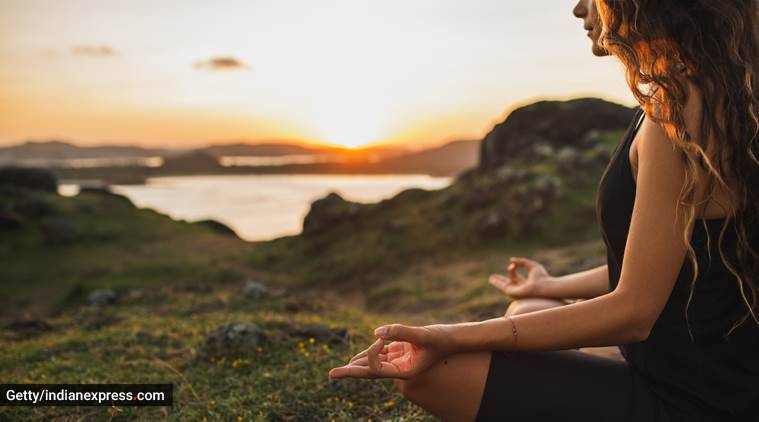 meditation, how to meditate, things to know about meditation, meditation and mental health, beginner;s guide to meditation, indian express, indian express news