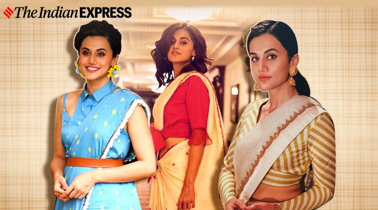 tapsee 2 - Taapsee Pannu turns 33: We need to talk about how pretty she looks in a sari