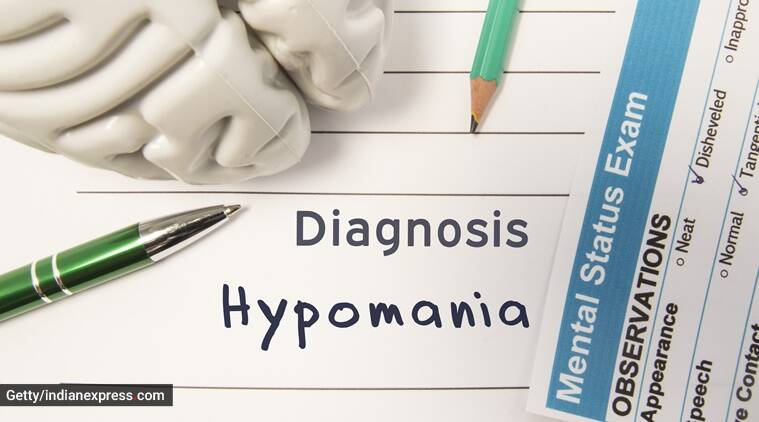 hypomania, hypomania symptoms, indianexpress.com, indianexpress, treatment for hypomania, sushant singh rajput, bipolar disorder, depression, mania,