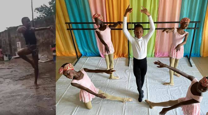 ballet, nigeria boy ballet in rain, nigeria boy viral video ballet scholarship, nigeria boy gets scholarchip american ballet theatre, viral news, good news, indian express