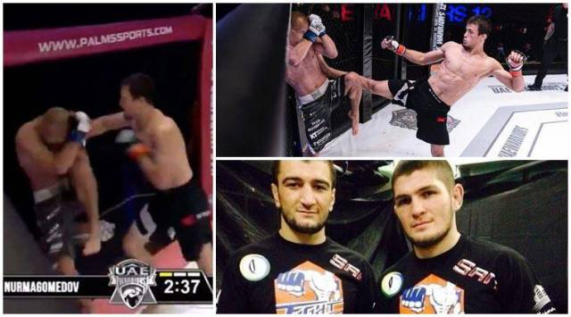 UFC, UAE Warriors 12, Khabib Nurmagomedov, Khabib Nurmagomedov's cousin Usman, Usman Nurmagomedov, UFC fight video, fight video, sports news, latest sports news