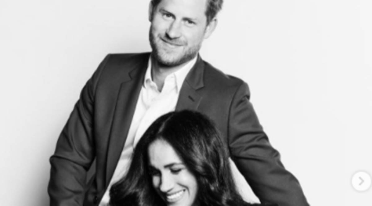 Princess Diana, Princess Diana Cartier watch, Meghan Markle Cartier watch, Meghan Markle and Prince Harry, Duke and Duchess of Sussex, indian express news