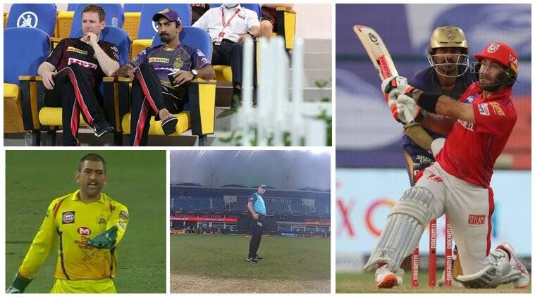 IPL 1200 IPL 2020 weekly round-up: From KKR's role reversal to Dhoni's outburst and KXIP's final ball destiny