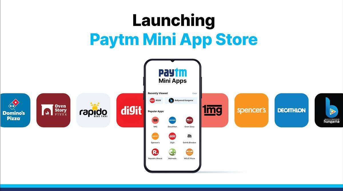 Paytm Mini App Store: Paytm launches 'mini app store' in a bid to challenge Google Play Store's monopoly