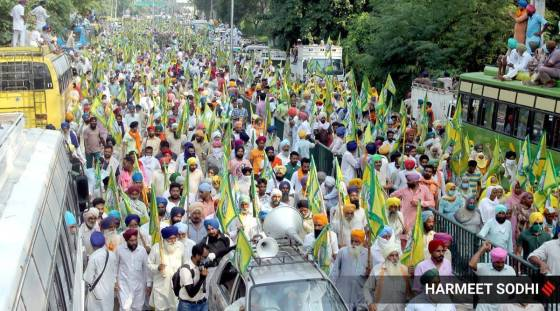 Peasants protest: Haryana police say more than 60,000 at borders, unsustainable situation