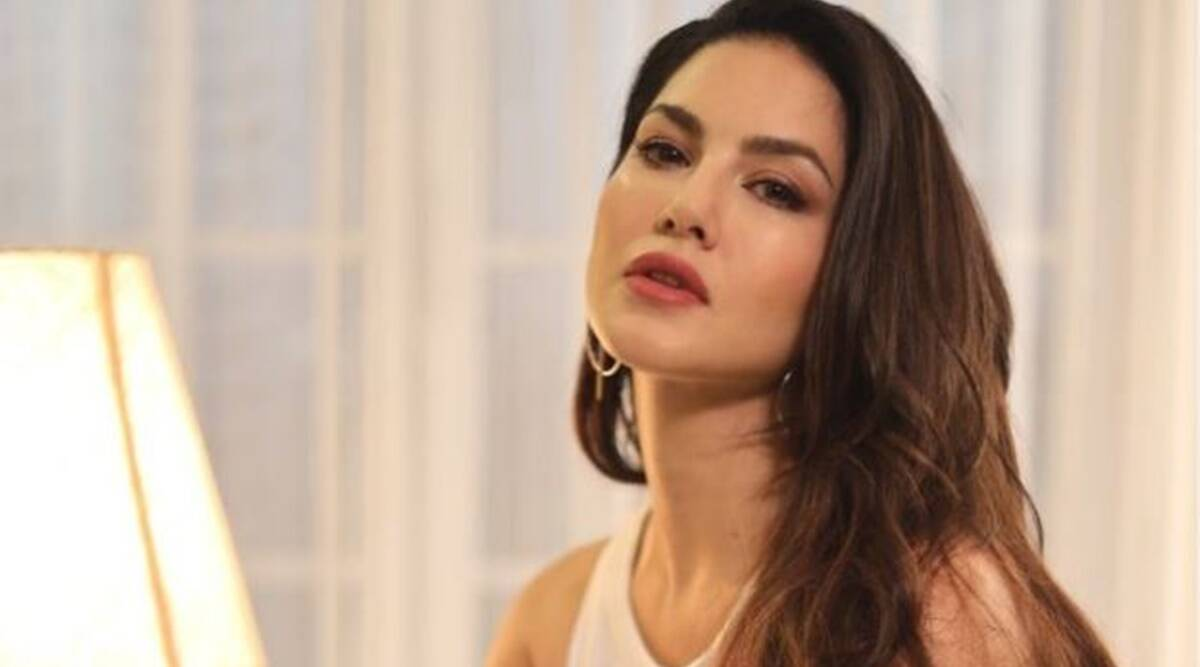 sunny Sunny Leone is ringing in the holiday spirit with this bright outfit; see pics