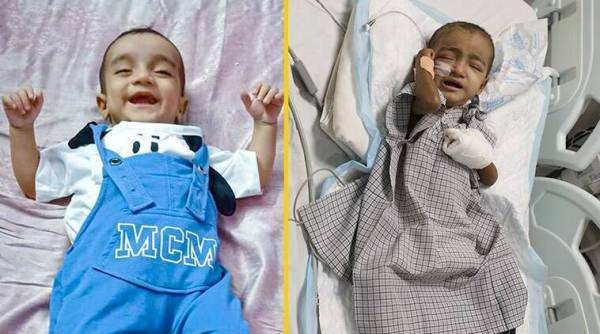 3 12 2 The next 20 days of ICU care will decide baby Musab's fate against a deadly disease