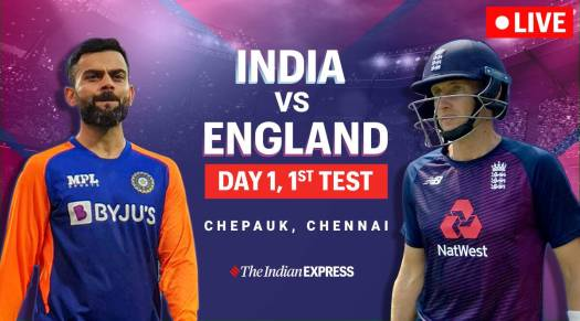 India vs England 1st Test Live Score, IND vs ENG 1st Test ...