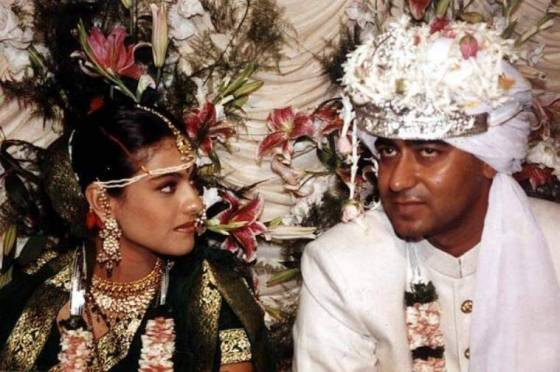 wedding photos kajol ajay devgn