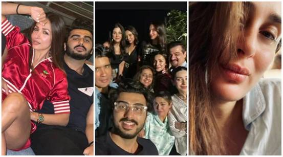 """Arjun Kapoor-Malaika Arora attends a pleasant get-together with Karan Johar, Gauri Khan while Kareena Kapoor """"waits for the weekend"""".  Look at the pictures inside"""