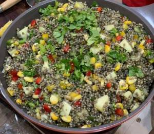 2. Colourful millet Salad Refresh yourself with hibiscus flowers and a colourful millet salad (recipe inside)