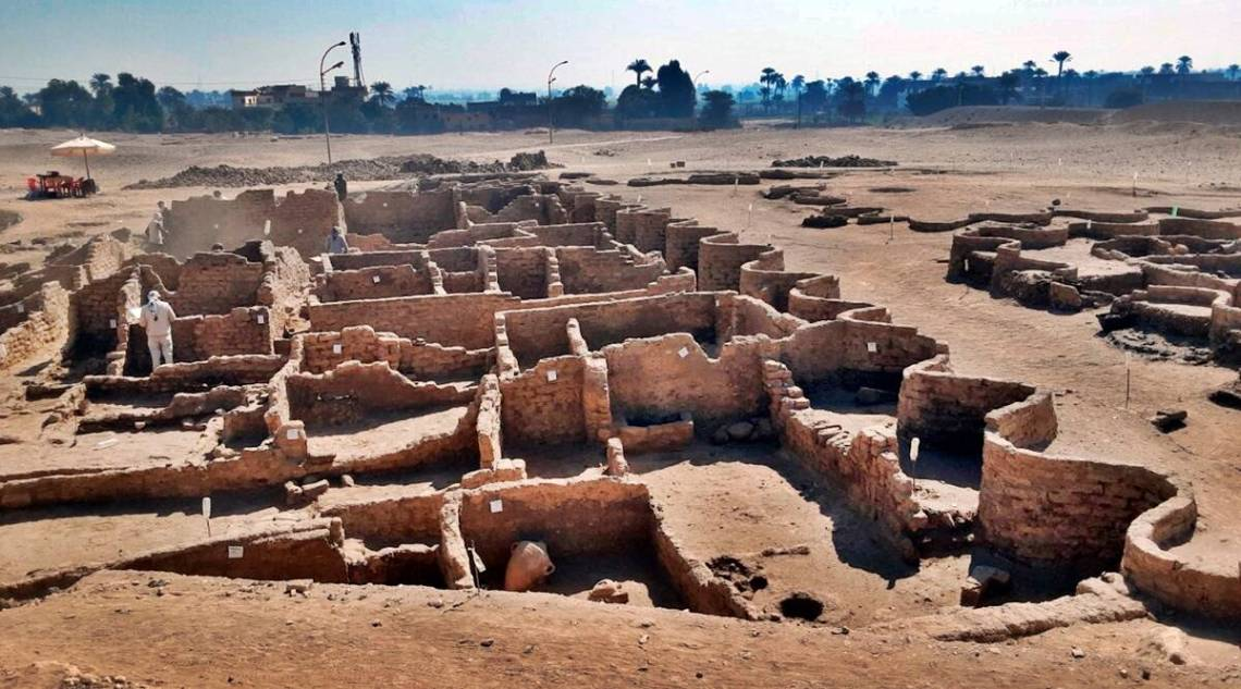 Archaeologists unearth an ancient pharaonic city in Egypt | World News,The  Indian Express