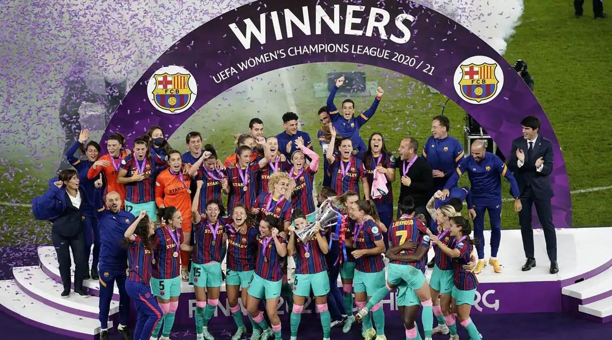 Barcelona won Women Champions League final for 1st time