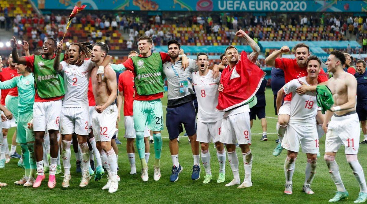 EURO 2020: Swiss history makers hailed by coach, captain and fans | Sports  News,The Indian Express