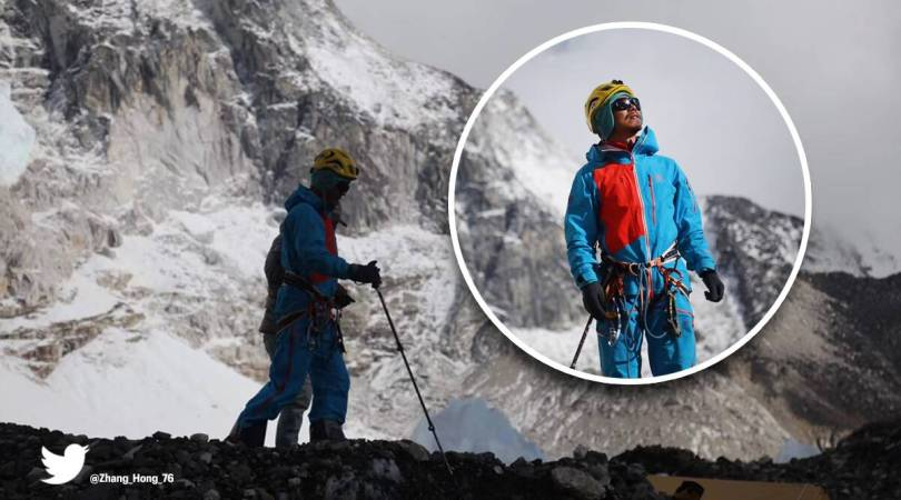 Chinese climber becomes first blind Asian to ever scale Everest