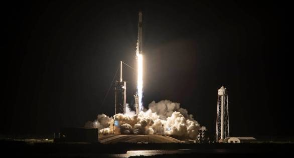 First all-civilian crew launched into orbit aboard SpaceX rocket ship    Technology News,The Indian Express