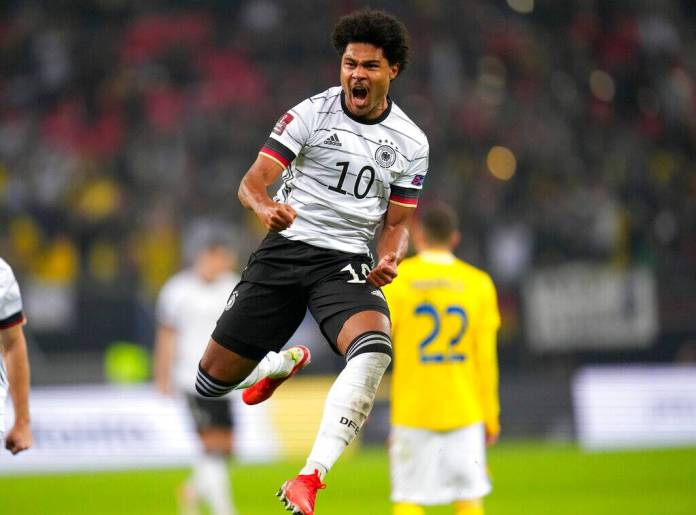 Serge Gnabry from Germany