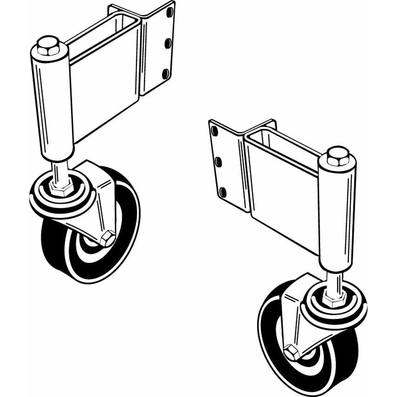 Adjust A Gate Swivel Ground Gate Wheel Right Gate Opening