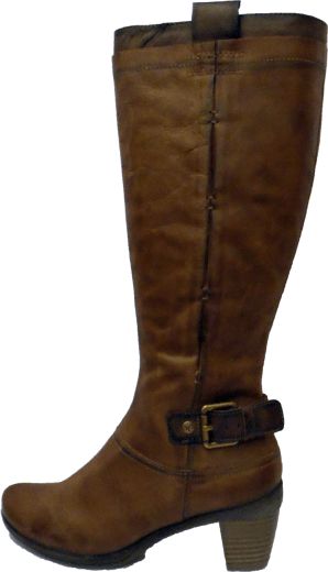 Tall Brown Leather Boots
