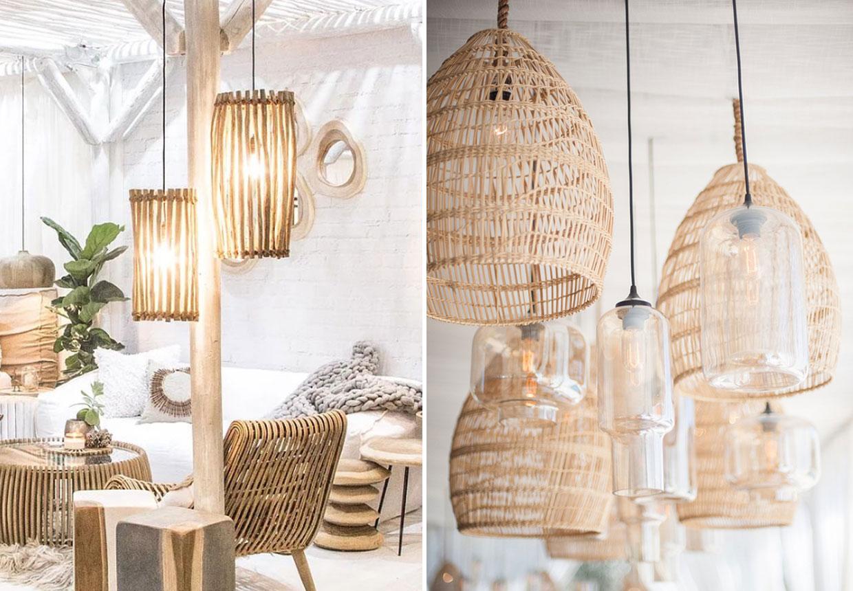 Bambus Indretning Med Bambuslamper Boligmagasinet Dk