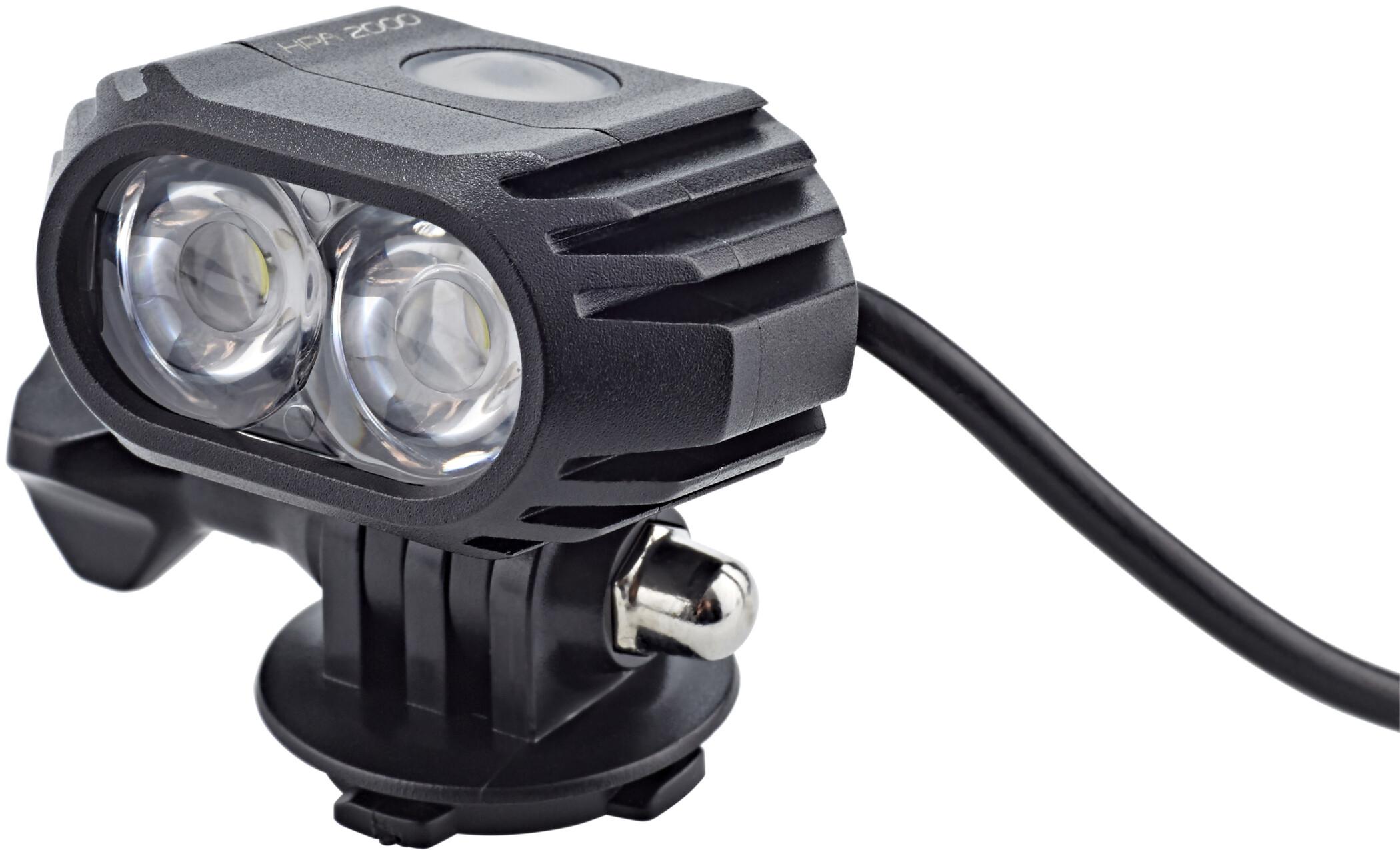 Cube Hpa 2000 Led Licht Helmlampe Online Kaufen Fahrrad De