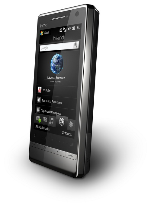 t right3 4 resize HTC Touch Diamond2 Review