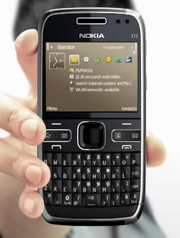 e72 Video: Nokia E72 accidentally makes an early appearance on YouTube