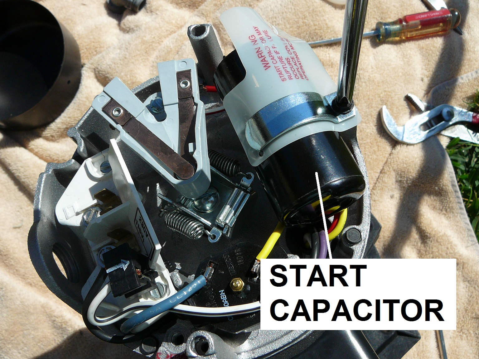 How To Select the Right Capacitor For Your Pool Pump Motor