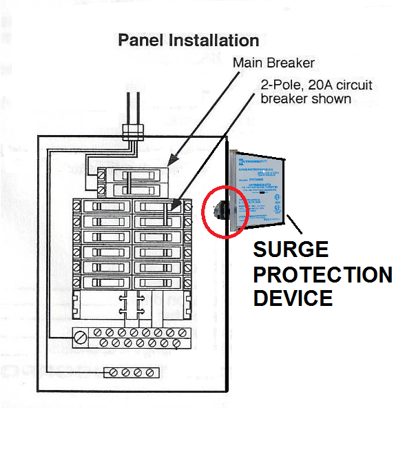 How To Install an Intermatic Surge Protector Device