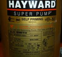 How to Read a Hayward Pool Motor Label  INYOPools