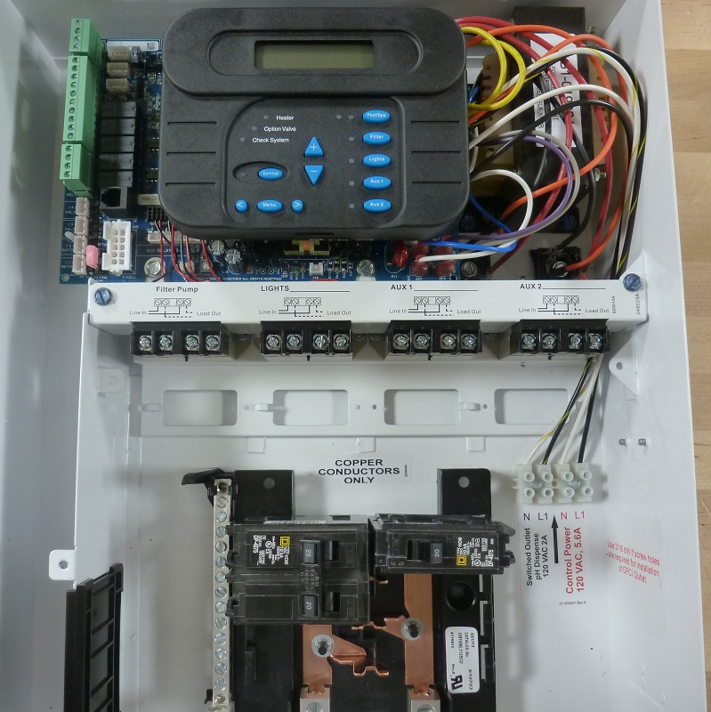 How to Wire 230V Equipment to the Hayward Pro Logic
