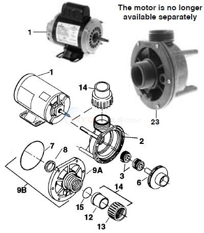 AquaFlo Circ Master CMCP Parts  INYOPools