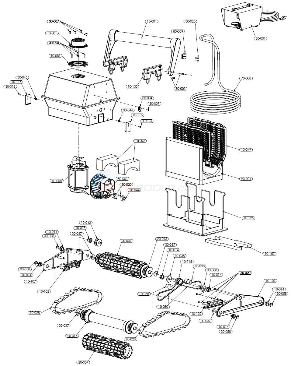 Aquabot Classic Parts  INYOPools