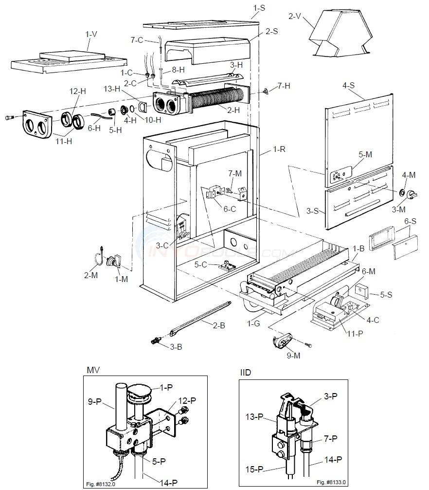 Raypak versa 055b 10 01 89 current parts inyopools rh inyopools raypak boilers manual
