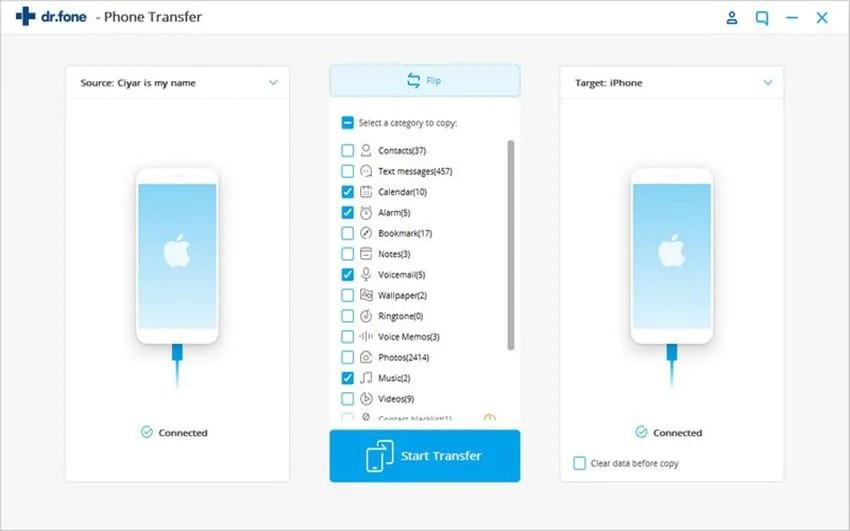 iSkysoft iTransfer 4.5.0 Mac 破解版 - 在iPod,iOS和Android设备之间传输媒体文件