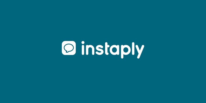 Instaply sur iOS et Android