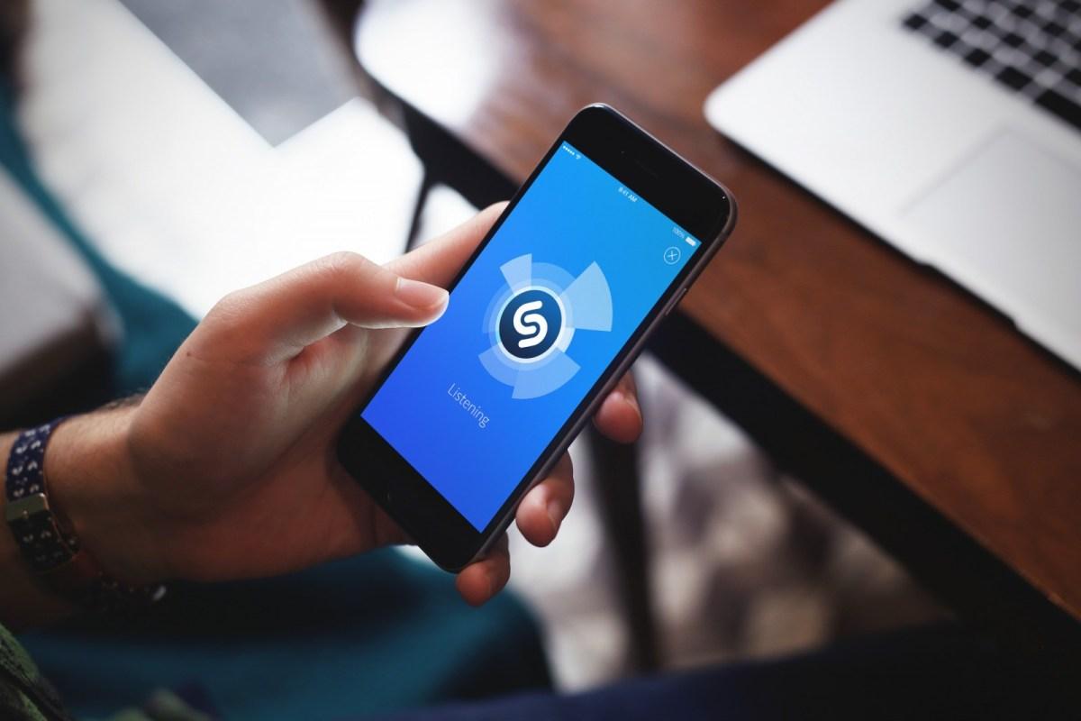 Shazam et la reconnaissance visuelle des objets via mobile